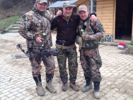 Bowhunter in Ungarn 2015