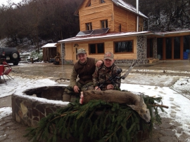 erfolgreiche Bogenjagd in Ungarn mit Nagyvad Hunting