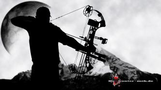 Silhouette Bowhunter
